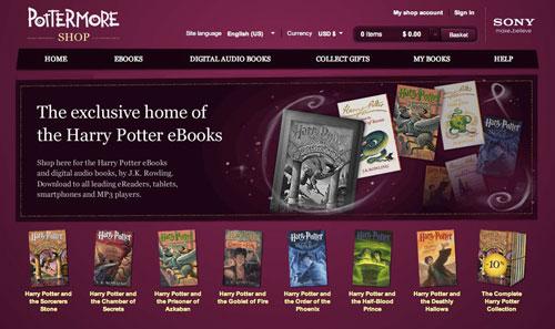 Harry Potter por fin el formato electrónico