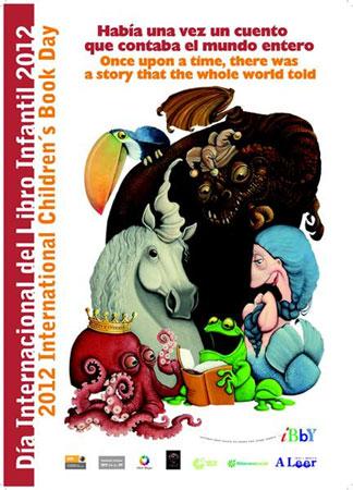 Cartel Día Internacional del Libro Infantil y Juvenil 2012