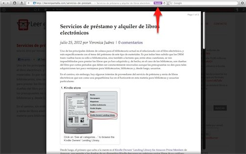 Extensiones web: haciendo la lectura en internet más sencilla