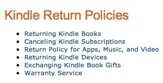 Sobre la devolución y el reembolso por la compra de libros electrónicos