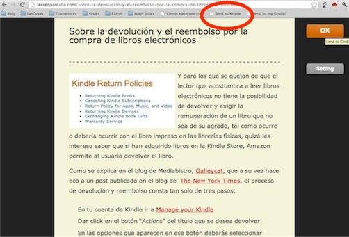 De la web a tu e-reader: convertir páginas web en libros electrónicos