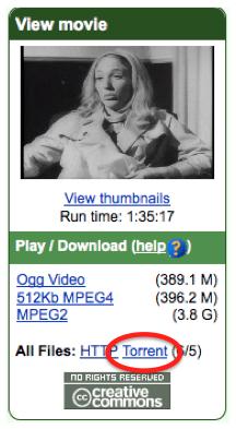Internet Archive ofrece descarga de sus archivos a través de BitTorrent