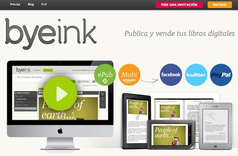 Byeink: publica y vende tus libros digitales