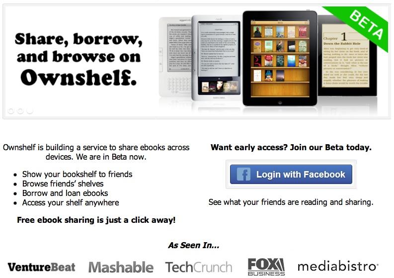 Ownshelf: comparte tu biblioteca digital