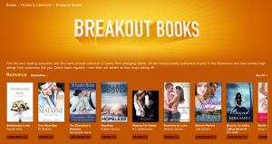Breakout Books, aplicación para recomendación de libros autoeditados