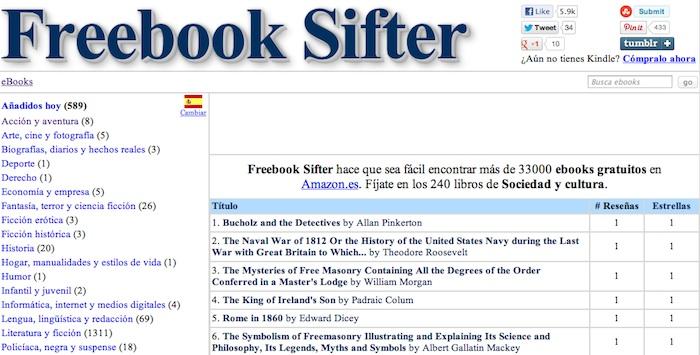 Para descargar libros Kindle gratis