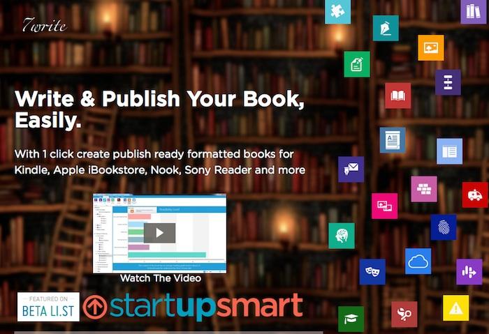 Más plataformas de autoedición: 7write, escribe y publica tu libro