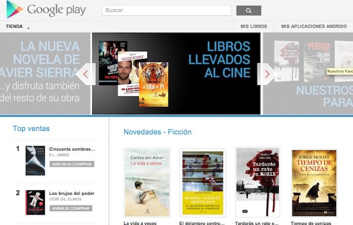 Google Play Books llega a México