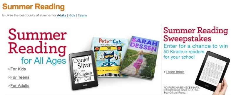 Amazon lanza Summer Reading: para leer más este verano