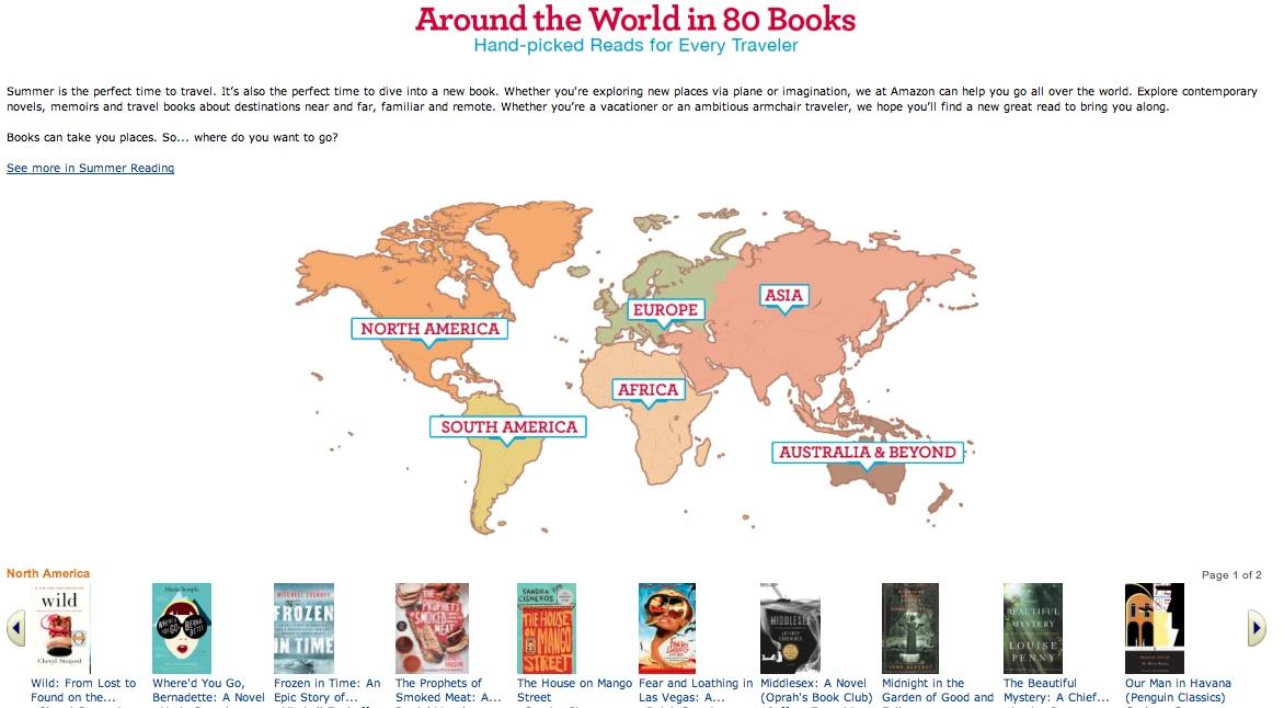 La vuelta al mundo en 80... ¿libros?