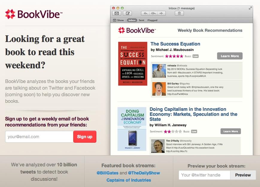 BookVibe: herramienta para descubrir libros
