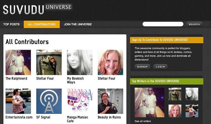 Suvudu Universe: comunidad de blogs de ciencia ficción y fantasía
