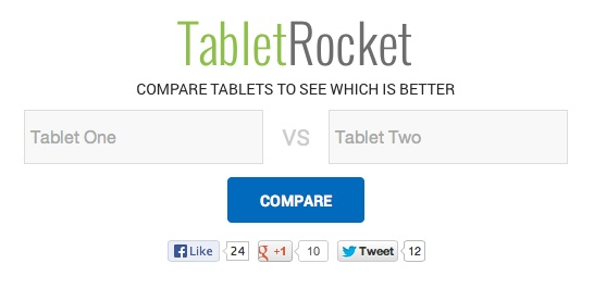 tablet rocket