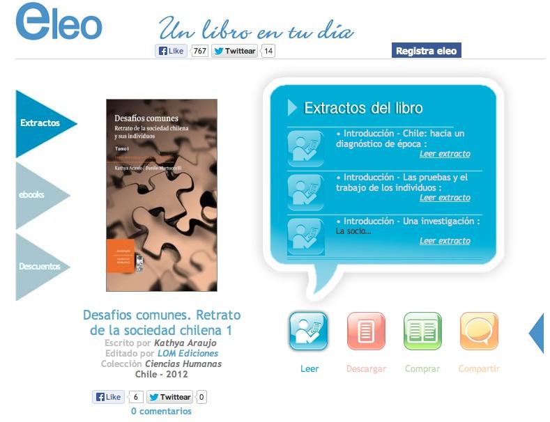 Eleo, proyecto de difusión de edición digital