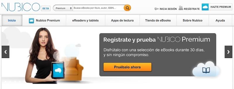 Núbico, servicio de lectura digital por suscripción