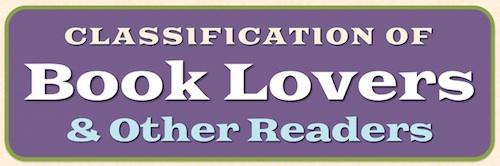Clasificación de los amantes de los libros y otros lectores