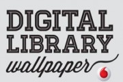 Digital Library Wallpaper: coloca tus ebooks en un librero