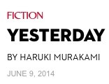 """Yesterday"": relato de Murakami publicado en The New Yorker"