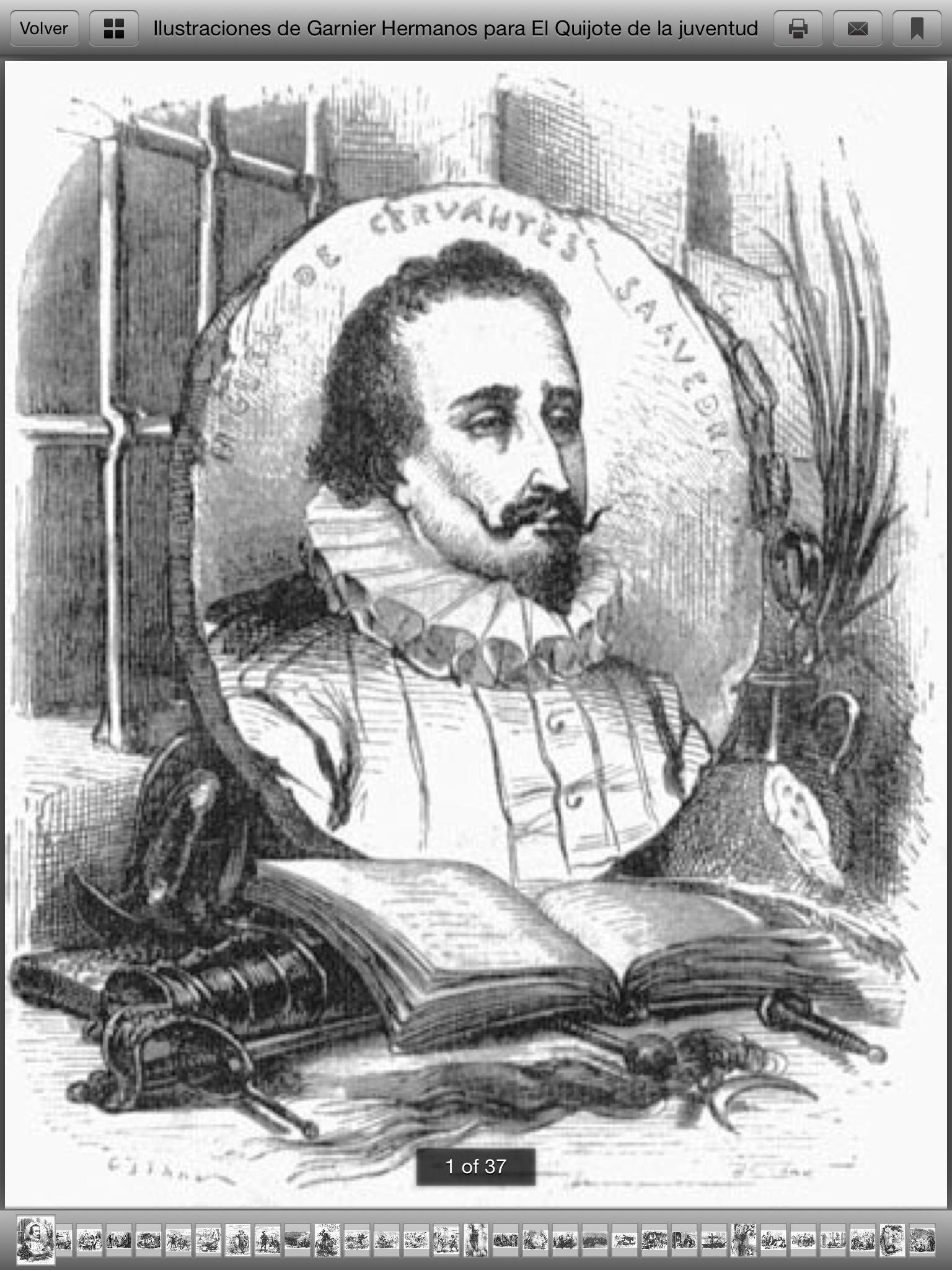 La Fundación Biblioteca Virtual Miguel De Cervantes En El Ipad