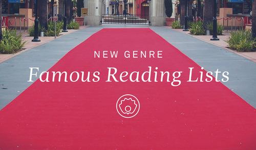 Nuevo en Oyster: listas de lecturas de los famosos