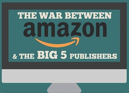 Amazon vs las 5 grandes editoriales: ¿quién pierde más? (infografía)