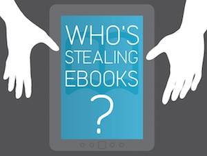 ¿Quién piratea libros electrónicos? (Infografía)