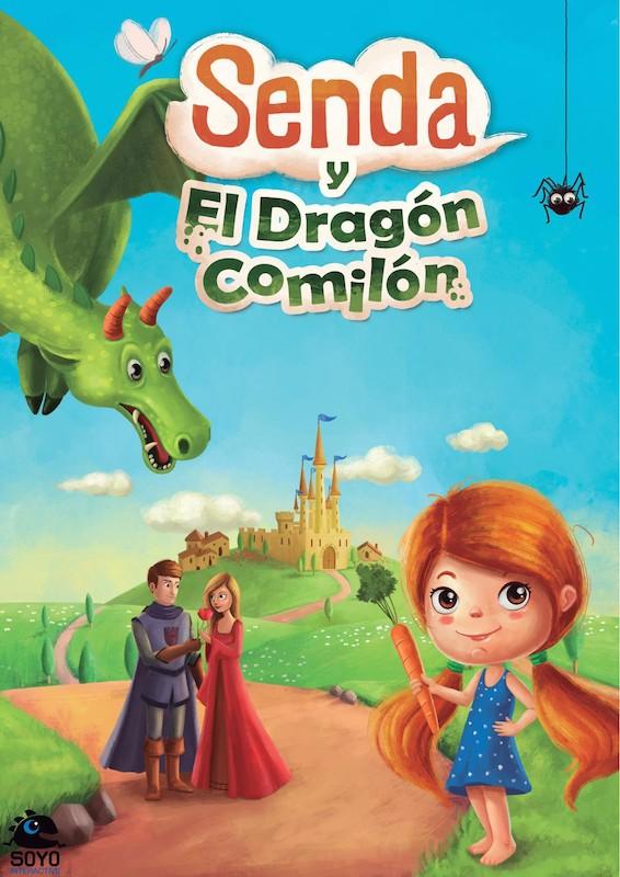 Senda y el dragón comilón cover