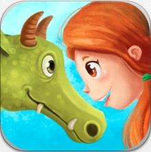 Senda y el dragón comilón, app interactiva de storytelling
