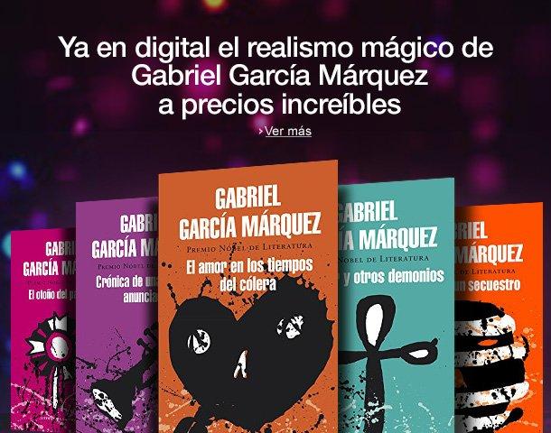 Ya en Kindle: el realismo mágico de Gabriel García Márquez