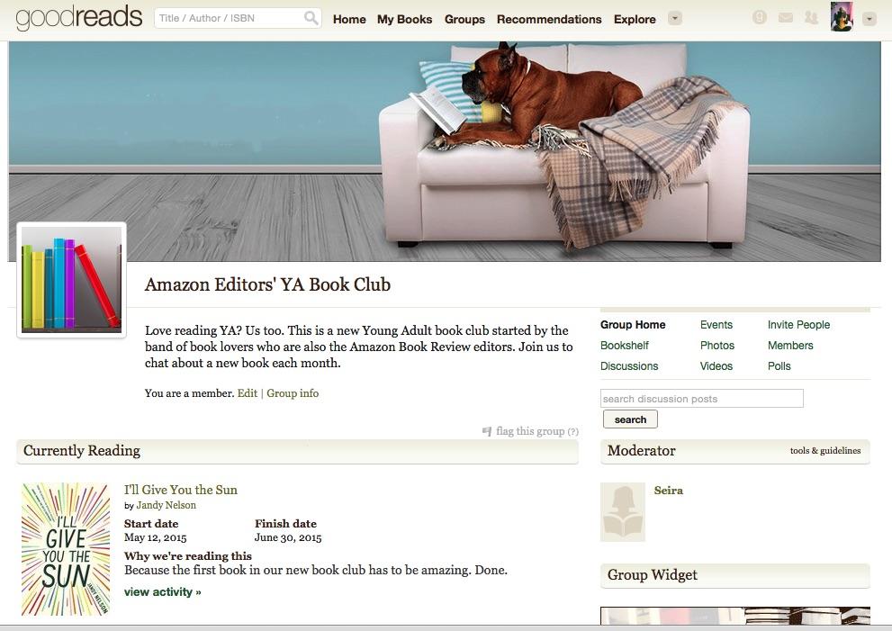 Amazon lanzó un club de lectura de literatura juvenil