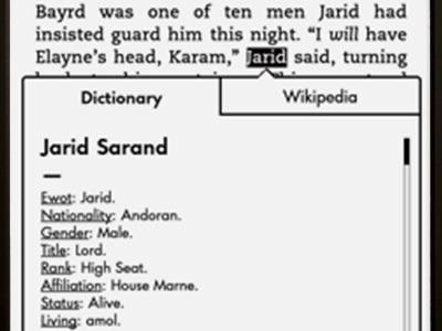 Fictionary, para crear diccionarios de personajes de libros