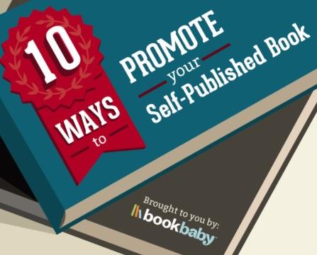 10 formas de promover tu libro autoeditado (infografía)