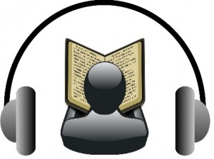 Audiobook logo by Nicola Einarson https://www.flickr.com/photos/ 74109564@N08/8119732223/