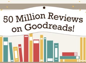 50 millones de reseñas en Goodreads