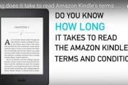 9 horas para leer los términos de servicio del Kindle de Amazon