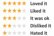 reseñas de 3 estrellas