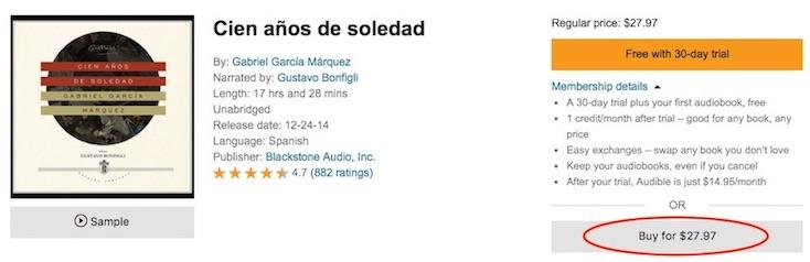 Google lanza sección de audiolibros en Google Play