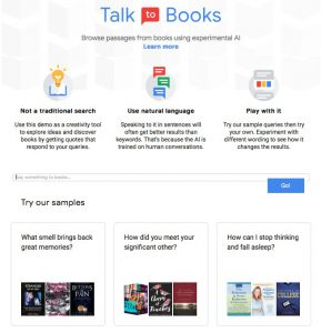 talk to books