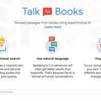 Talk to Books de Google