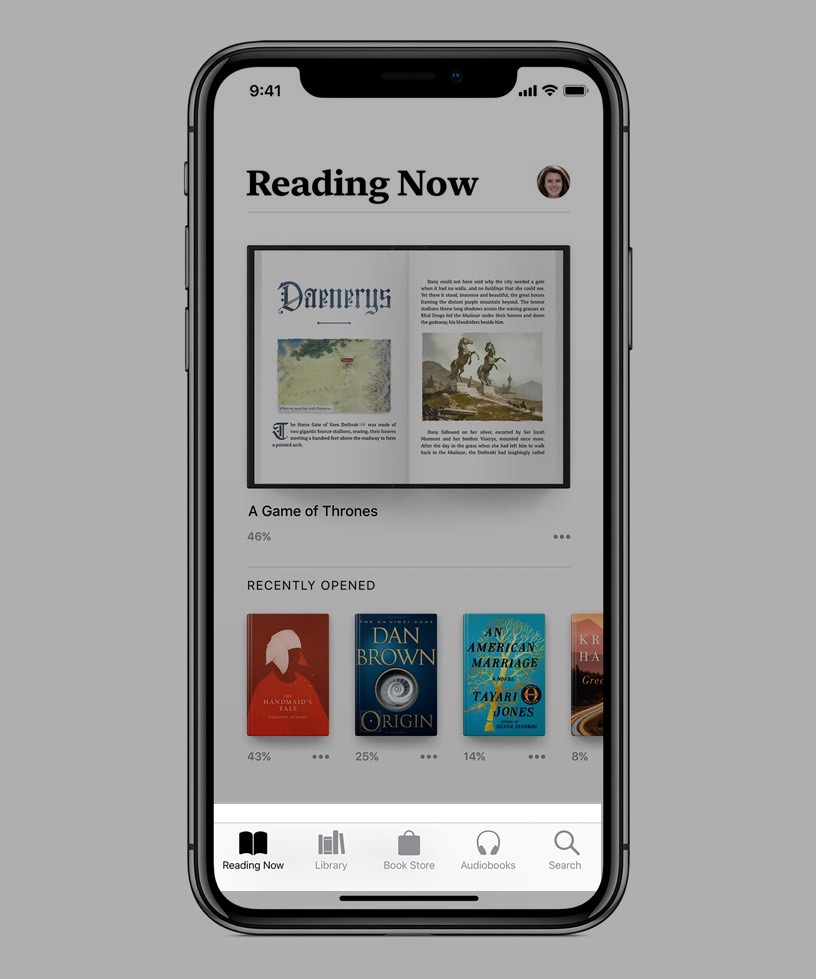 Apple lanza Apple Books, la sustituta de iBooks
