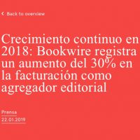 España y América Latina, líderes en el crecimiento de Bookwire