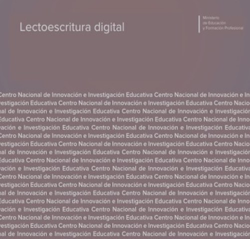 Lectoescritura digital, reseña