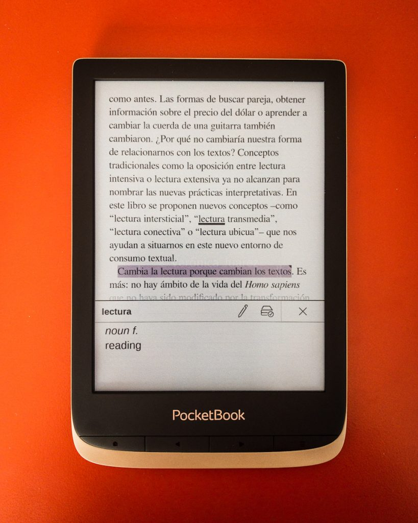 PocketBook Color, el primer ereader a color de PocketBook